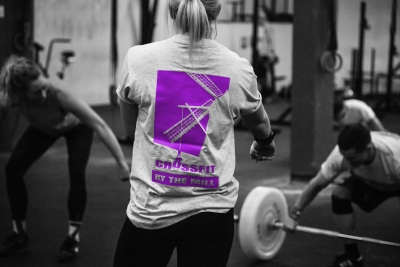 Logodesign Crossfit By The Mill